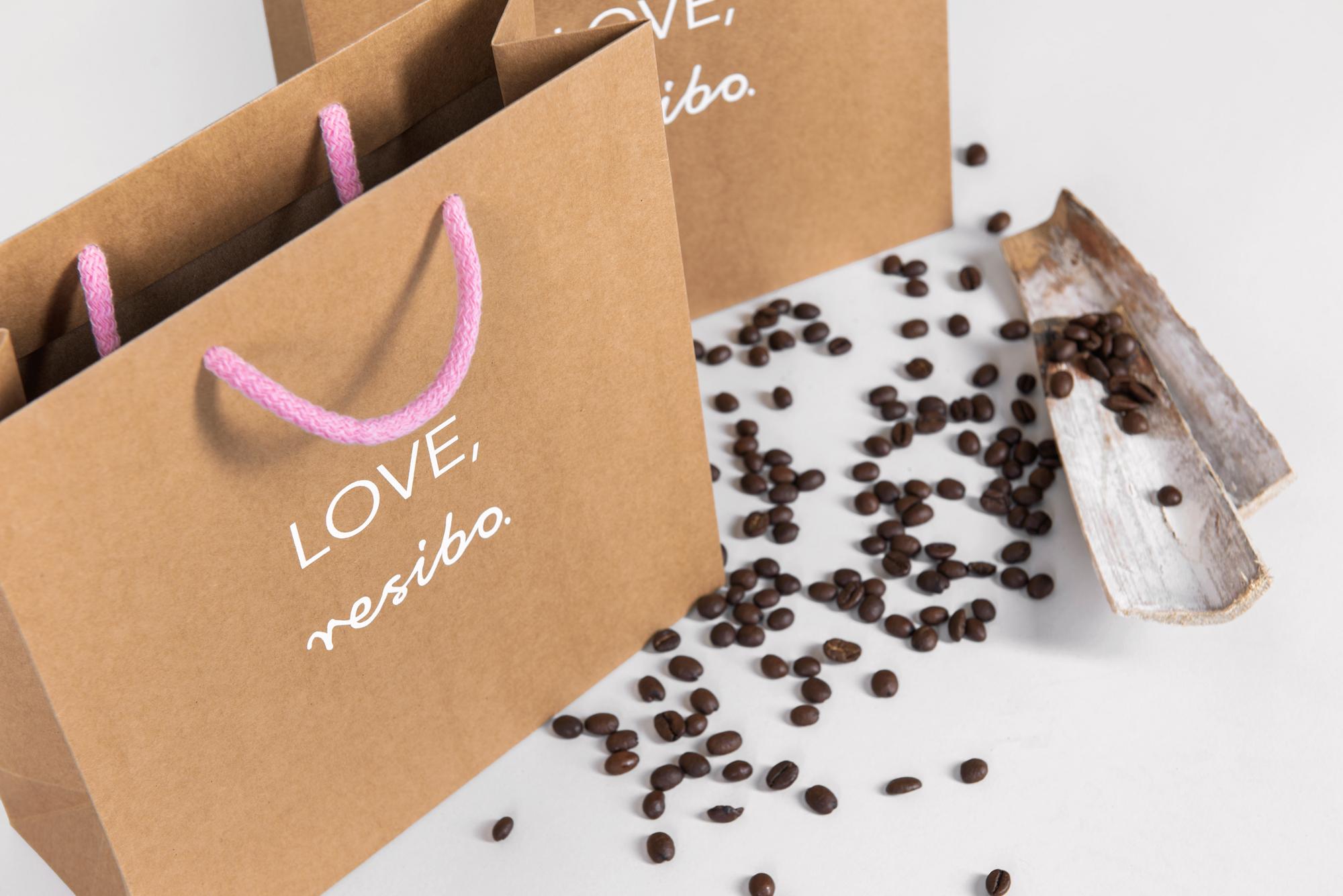 Ekologiczne torby papierowe z nadrukiem